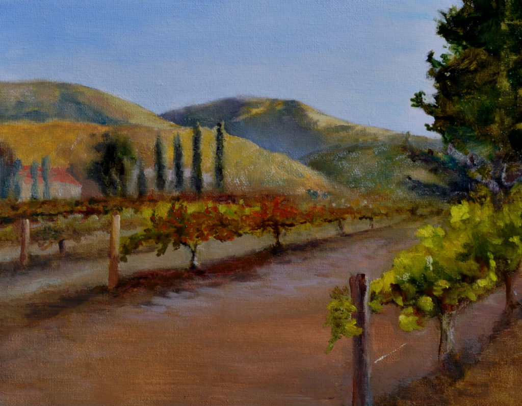 Guglielmo Vineyards in the Fall